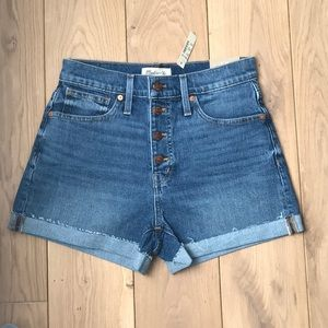 Madewell | High Rise Denim Shorts
